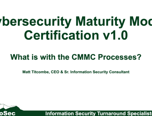 CMMC: What is with the new CMMC Processes?