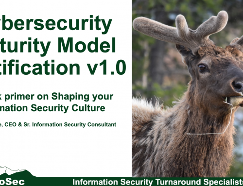 CMMC: Driving your Information Security Culture Change