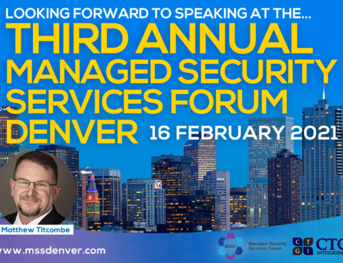 3rd Annual Denver Managed Security Services Forum