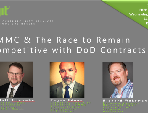 17 March 2021 ||  CMMC & The Race to Remain Competitive with DoD Contracts