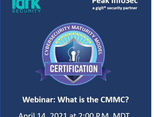14 April 2021 ||  What is the CMMC?